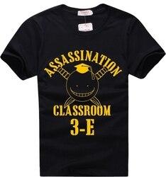 Assassinato sala de aula korosensei t camisa animação banda desenhada t camisa masculina unissex nova moda tshirt frete grátis engraçado