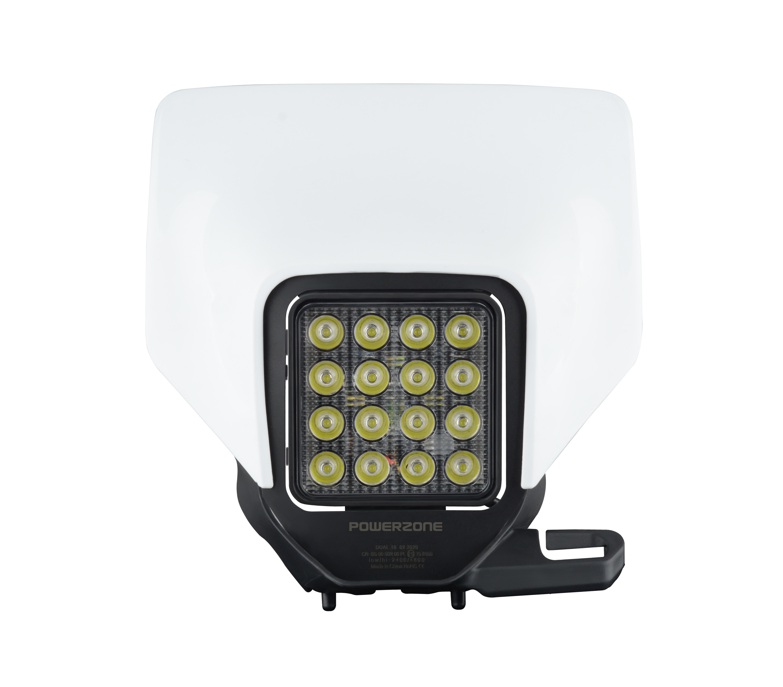 PowerZone Motorcycle LED Headlight Headlamp Head Light Supermoto Fairing For Husqvarna Husky TE TE FC TC Enduro LED Headlight