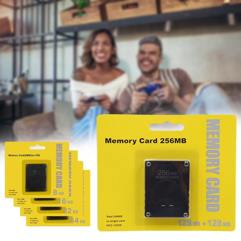 Tarjeta de memoria Megabyte de 8/16/32/64/128/256MB para Sony Playstation 2 PS2, tarjeta...