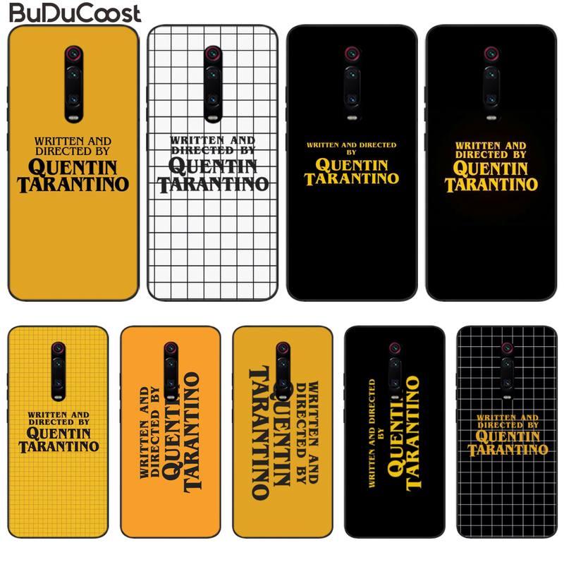 written-directed-quentin-tarantino-phone-case-for-xiaomi-redmi-note-7-5-6-8-pro-9s-mi8-mi10-a2-lite-6x-mi9-se-9t-pro-8-8a-cover
