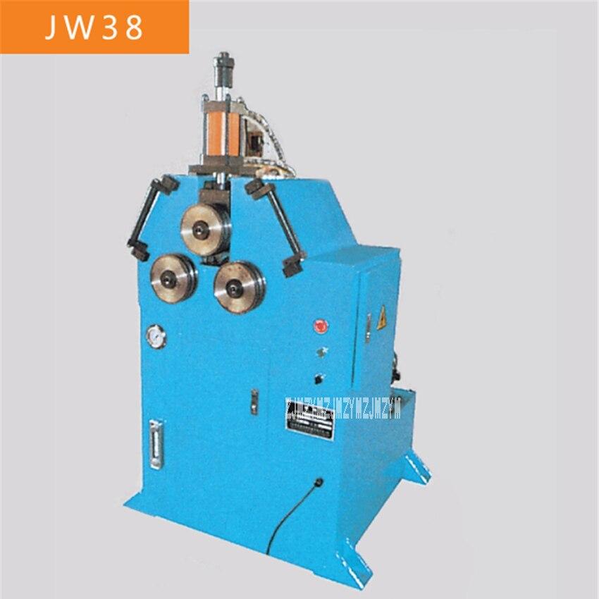 Nueva máquina dobladora de tubos JW38, cortadora láser de tubo cuadrado, dobladora de barras de alta calidad, 220V/380V 4KW