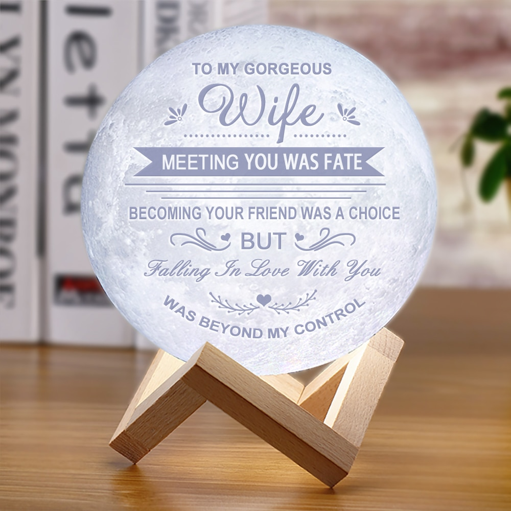 2019 NEW Moon Lamp Night light for Wife's Valentine's Day Birthday and Wedding Anniversary Gift LED