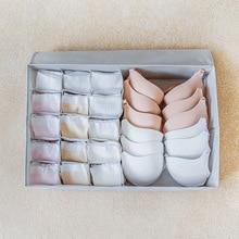 Luluhut-boîte de rangement lavable   luluhut, boîte de triage de soutien-gorge pour lingerie, tissu oxford, pliable, pour chaussettes 2 en 1, rangement à domicile, garde-robe organisateur