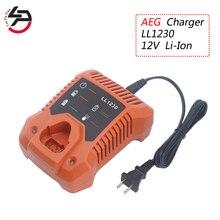 Li-Ion 12V para AEG cargador de batería para herramientas eléctricas BS12C2... BSS12C... BS12C... BLL12C... BBH12 batería L1230 L1215... L1215P L1215R R86048