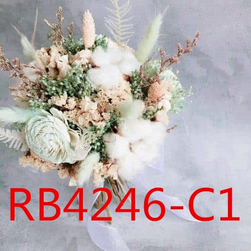 أكسسوارات الزفاف تحمل الزهور ، RB4246 ، 3303