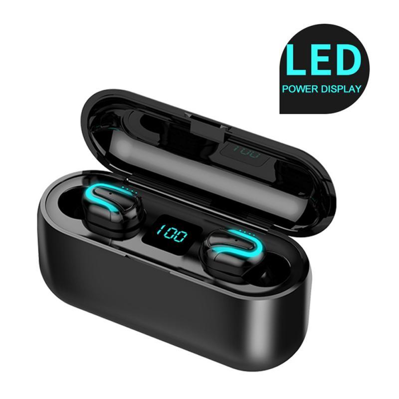 Q32 auricular Bluetooth 5,0 TWS auriculares inalámbricos Bluetooth auriculares deportivos auriculares estéreo manos libres con micrófono
