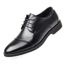 Luxury Business Oxford Leather Shoes Men Breathable Rubber Formal Dress Shoes Male Office Wedding Fl