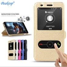 Pour Samsung Galaxy S10 S10E S9 S8 S5 S4 S7 S6 Edge Plus coque de téléphone Note 3 4 5 8 9 10 Pro Smart View support à rabat housse en cuir PU