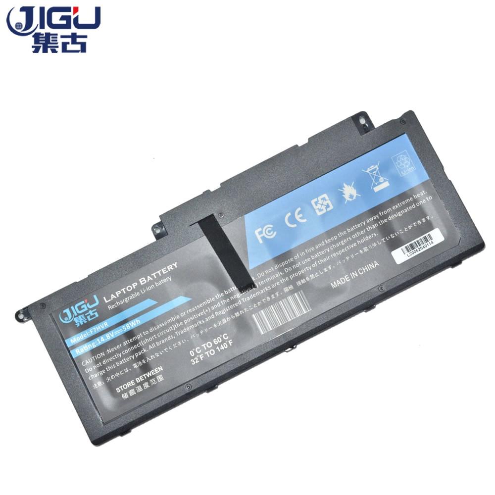 JIGU-بطارية كمبيوتر محمول جديدة ، F7HVR 7XNP2 JR9TD G4YJM لجهاز DELL ، سلسلة Inspiron N7737 N7537 ، سلسلة 17-7737 ، سلسلة N7437
