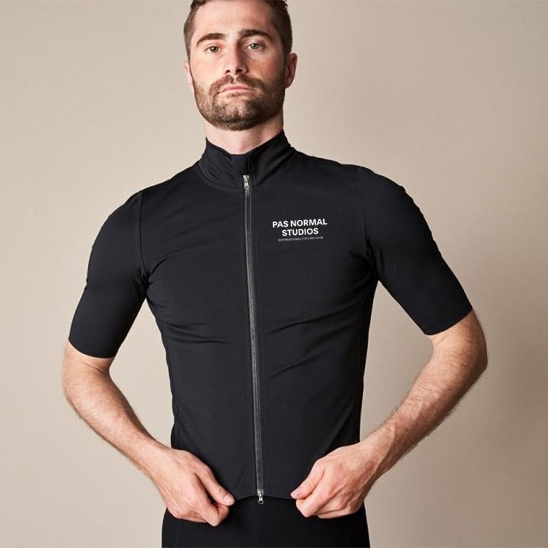Maillot de ciclismo de manga corta para hombre, ropa impermeable, repelente al...