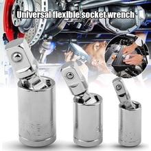 3 pièces Kit de prise de Joint universel outils à main pivotants u-joint ensemble dentraînement clé à douille Joints WWO66