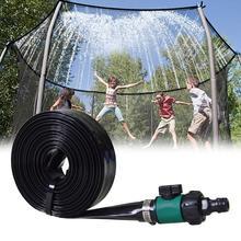 Kids Trampoline Sprinkler Cooling Kit Zomer Messing Mondstuk Outdoor Tuin Kas Park Mist Planten Spuiten Slang Drenken