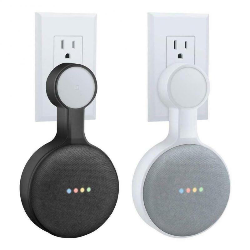 Para Google Home Mini salida de voz Asistente de Pared Soporte de suspensión de montaje en casa cocina baño dormitorio altavoz titular