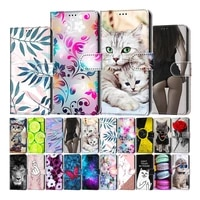 etui leather wallet flip stand case for samsung galaxy a11 a21 a31 a41 a51 a71 5g a21s a3 a5 2016 a310 a510 fundas back cover