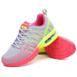 2020 Autumn Sport Shoes Woman Sneakers Female Running Shoes Breathable Hollow Lace-Up Chaussure Femme Women Fashion Sneakers
