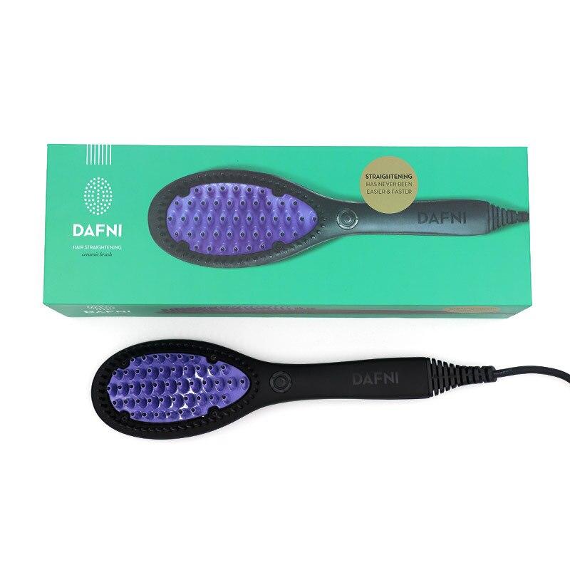 Multifunctional Anti-scald Ceramic Hair Straightener Brush Fast Straightening hair Electric Comb Heating hair Brush Styling Tool enlarge