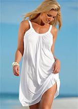 Femmes Boho été plage Bikini couvrir robe Sexy sans manches femmes soirée Swimear court dame vêtements de plage robe de soleil