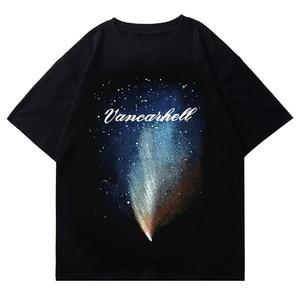 LACIBLE Hip Hop Men Streetwear Harajuku T Shirt Letter Graphic Print T-Shirt 2021 Summer Short Sleeve Tshirt Cotton Casual Tops