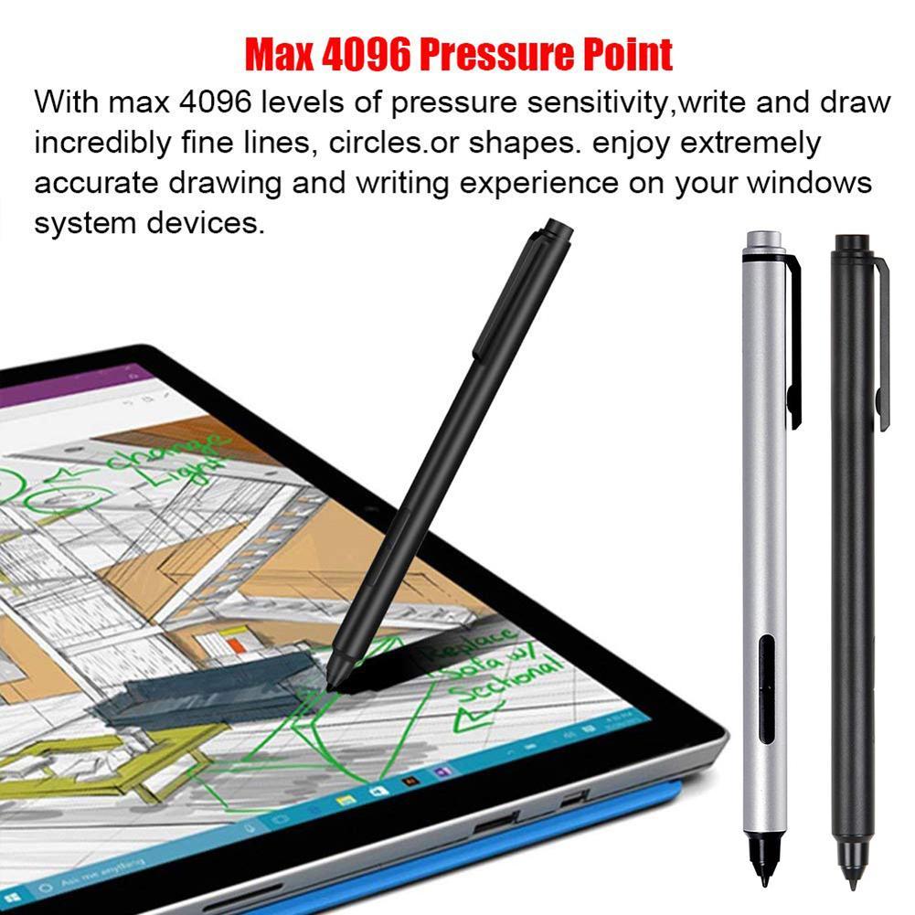 Caneta de superfície para microsoft surface go pro6/5/4/3/book caneta caneta eletromagnética stylus 4069 nenhum bluetooth ampla compatibilidade