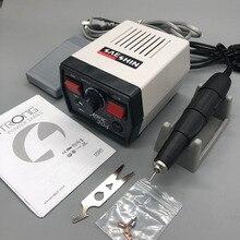 65W fort 204 boîte de contrôle 35000 tr/min fort 210 102L micromoteur poignée électrique perceuse à ongles manucure machine ongles lime cutter kit