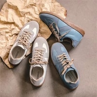 new men shoes casual breathable sneakers personalized pu upper non slip sole fashion tooling lace up 2021 outdoor men shoes