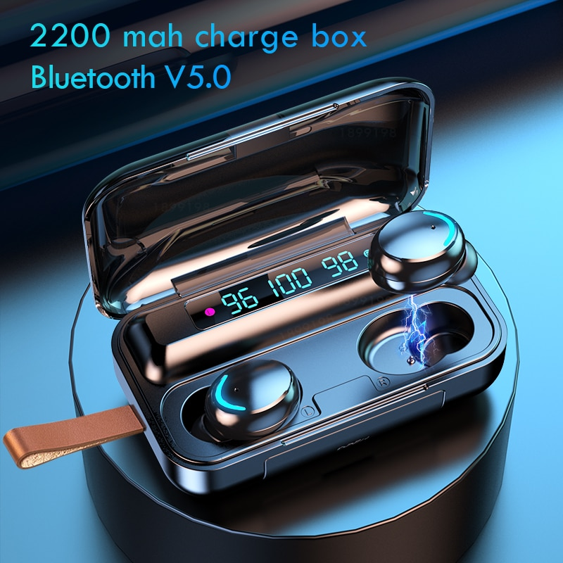 plufy bluetooth headphones sports wireless earphones music earbuds auriculares inalambrico csr4 1 touch audifonos ecouteur Bluetooth Wireless Headphones with Mic Sports Waterproof TWS Bluetooth Earphones Touch Control Wireless Headsets Earbuds Phone