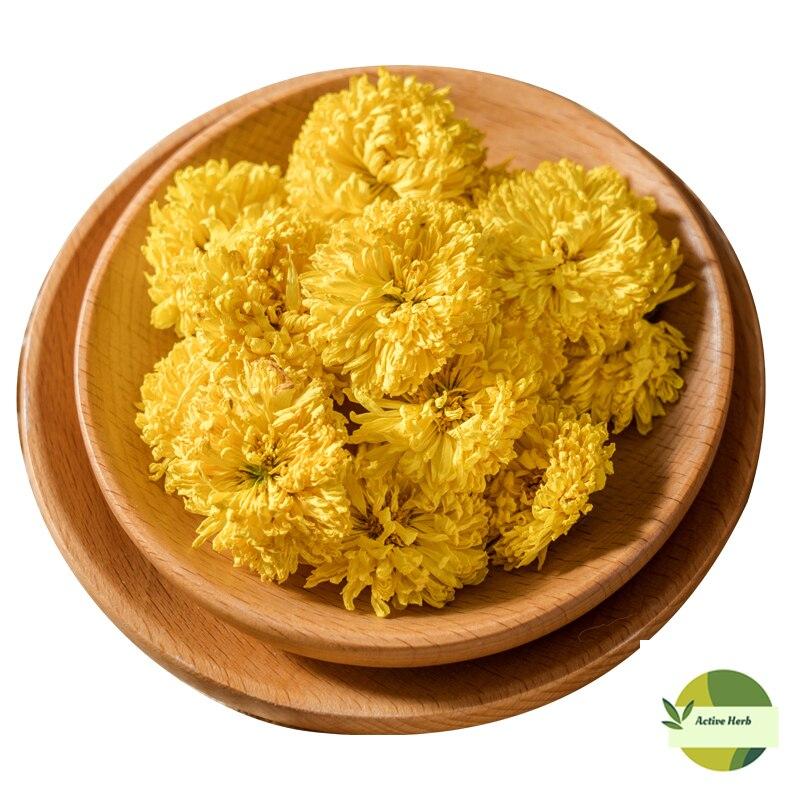 Chá amarelo da flor do crisântemo da qualidade para o anti-fadiga e o lipid-abaixando