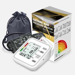 Upper Arm blood pressure monitor Automatic BP Monitors Heart Rate Pulse meter wrist Sphygmomanometers