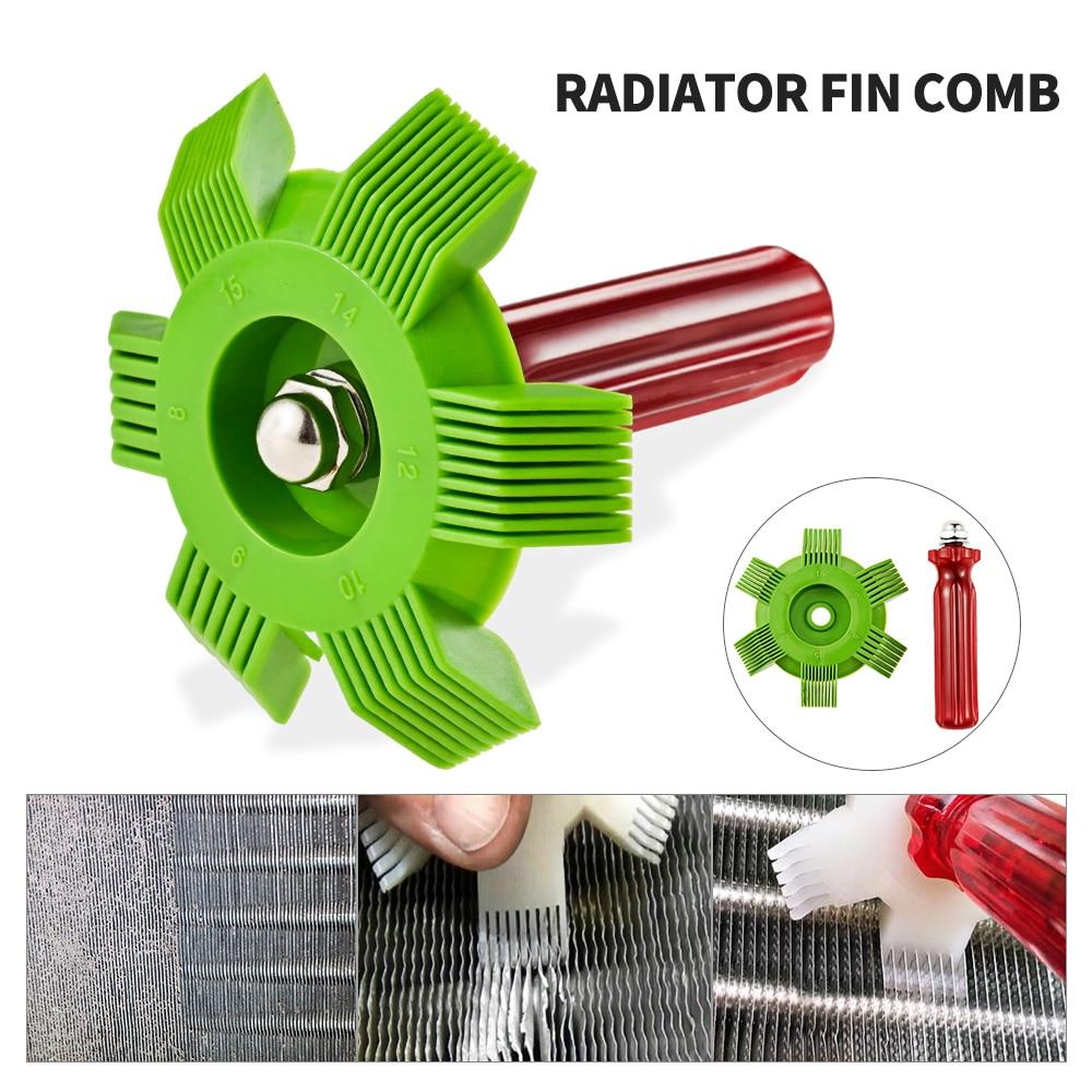 Radiator Comb Evaporator Air Conditioning Tools Fin Repair Comb A/C Radiator Condenser Coil Comb Cleaning Tool Auto Cooling Tool