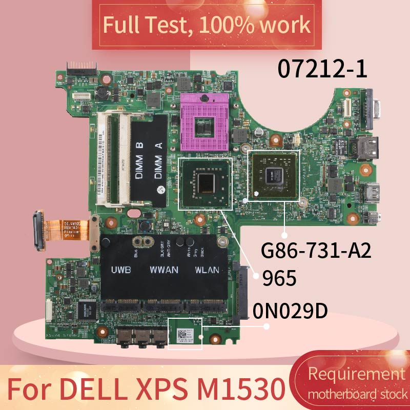 Para DELL Latitude E5400 0C949C GE45 PGA 479M DDR2 Notebook placa base...