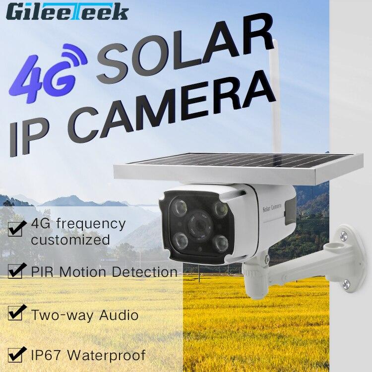 Cámara Solar para exteriores YN88 1080P HD inalámbrica 4G, tarjeta SIM, cámara de seguridad CCTV, visión nocturna, detección de movimiento PIR