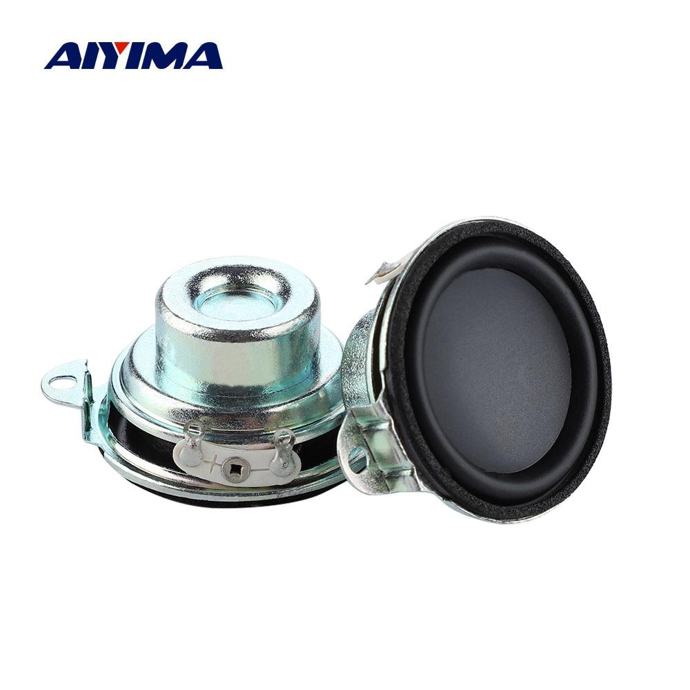 AIYIMA-Altavoz de Audio de 1,5 pulgadas, 40MM, 4 Ohm, 4W, minialtavoz de...