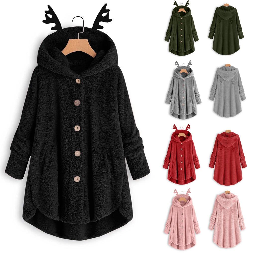 Além de veludo 2020 novas roupas de inverno mulheres oversize moletom plus size manga comprida streetwear harajuku bonito hoodies topos