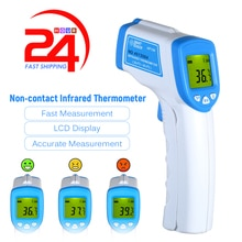 2020 Non-contact Infrared Digital Temperature Meter IR Infrared Temperature Measurement For Children Adult US Stock