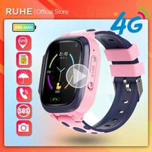 2021 children's watch smart Kids GPS 4G WIFI Y95 waterproof boys With Sim Card Photo Waterproof IP67