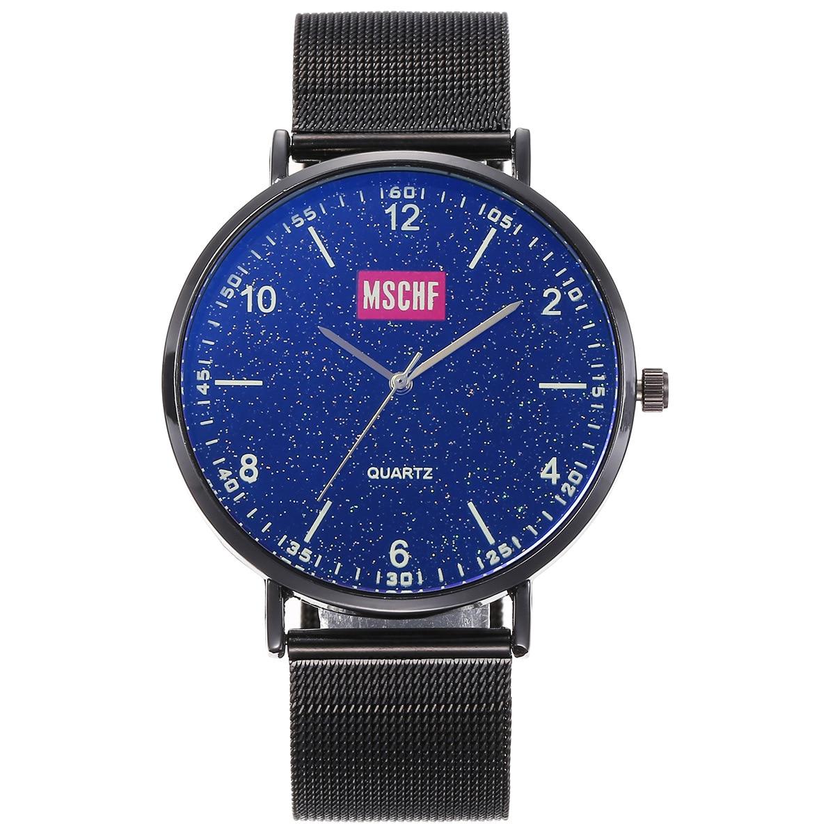 Модная креативная Подарочная коробка, очки + ремень + деловые Универсальные часы (3 шт./компл.), женские часы, топовый бренд, роскошные