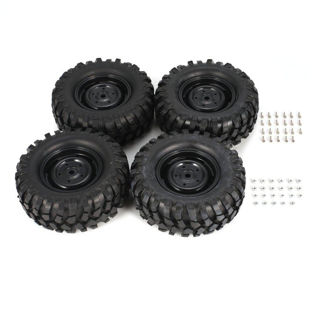 2019 4 шт 95 мм Скалолазание для внедорожных колес обода и шины для 1/10 Monster Truck Racing RC автомобильные аксессуары компонент