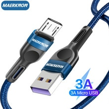 Micro USB Cable 3A  Fast Charger cabo micro usb for Samsung Xiaomi Redmi iphone 12 usb type c Mobile