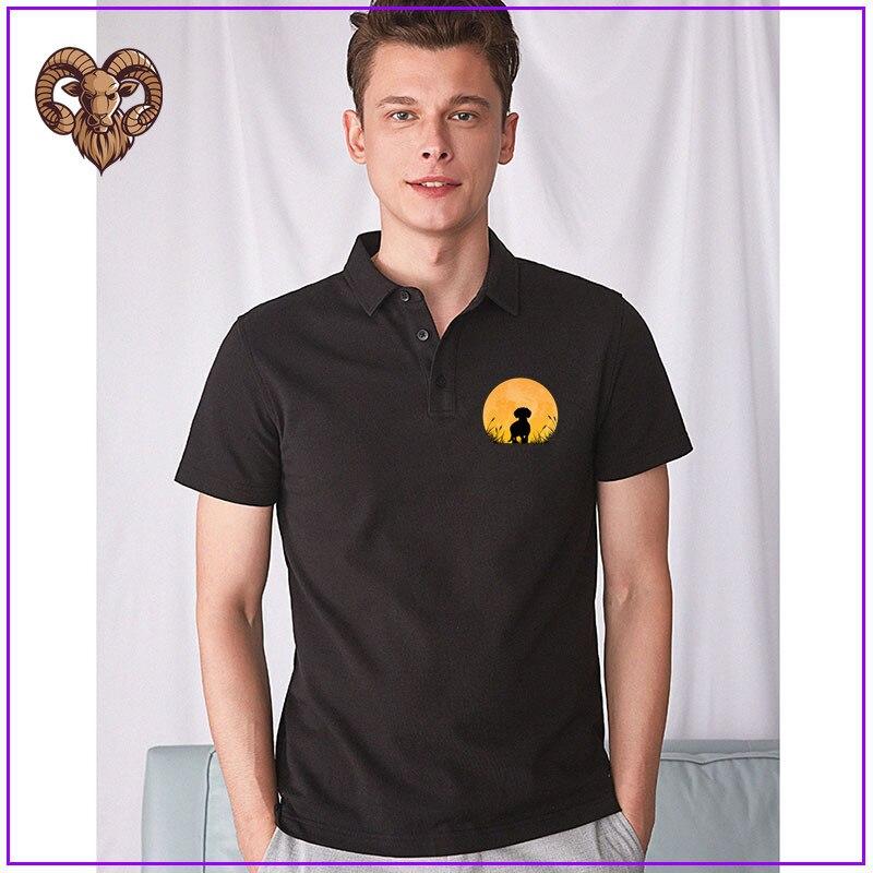 Novedad de 101, camiseta Polo de perro Dachshund para atardecer, camiseta Polo de moda de verano para hombre, divertida camiseta Casual con estampado de Animal, camiseta Harajuku para mujer