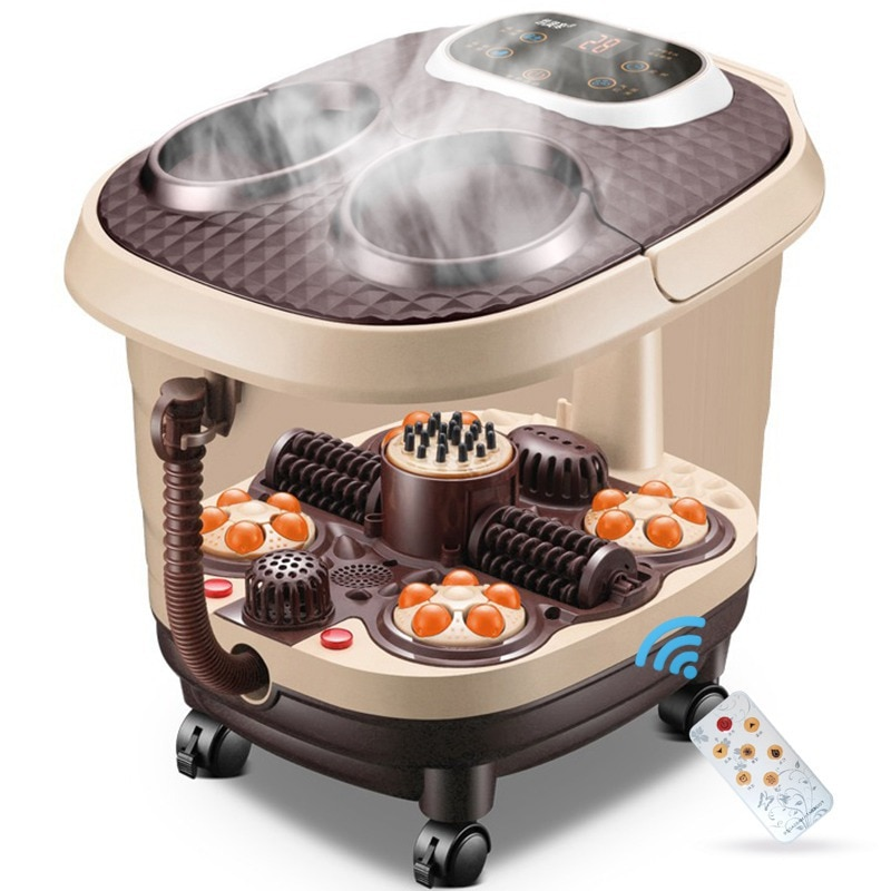 Fumigation full Automatic Electric Heating Foot Washbasin Massage Machine Deep Bucket Foot Bath Personal Health Care Appliance