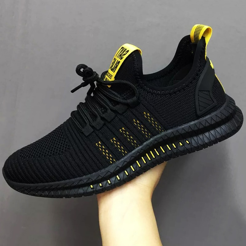 Men's Sneakers Mesh Breathable Big Size Sneakers Women Summer 2021 High Quality Platform Casual Ligh