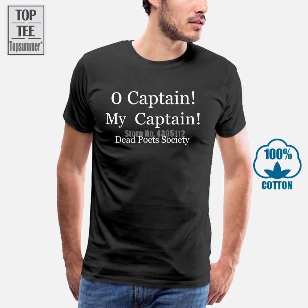 Mens O Kapitän Mein Kapitän T Hemd Toten Dichter Dvd Robin Williams Geschenk
