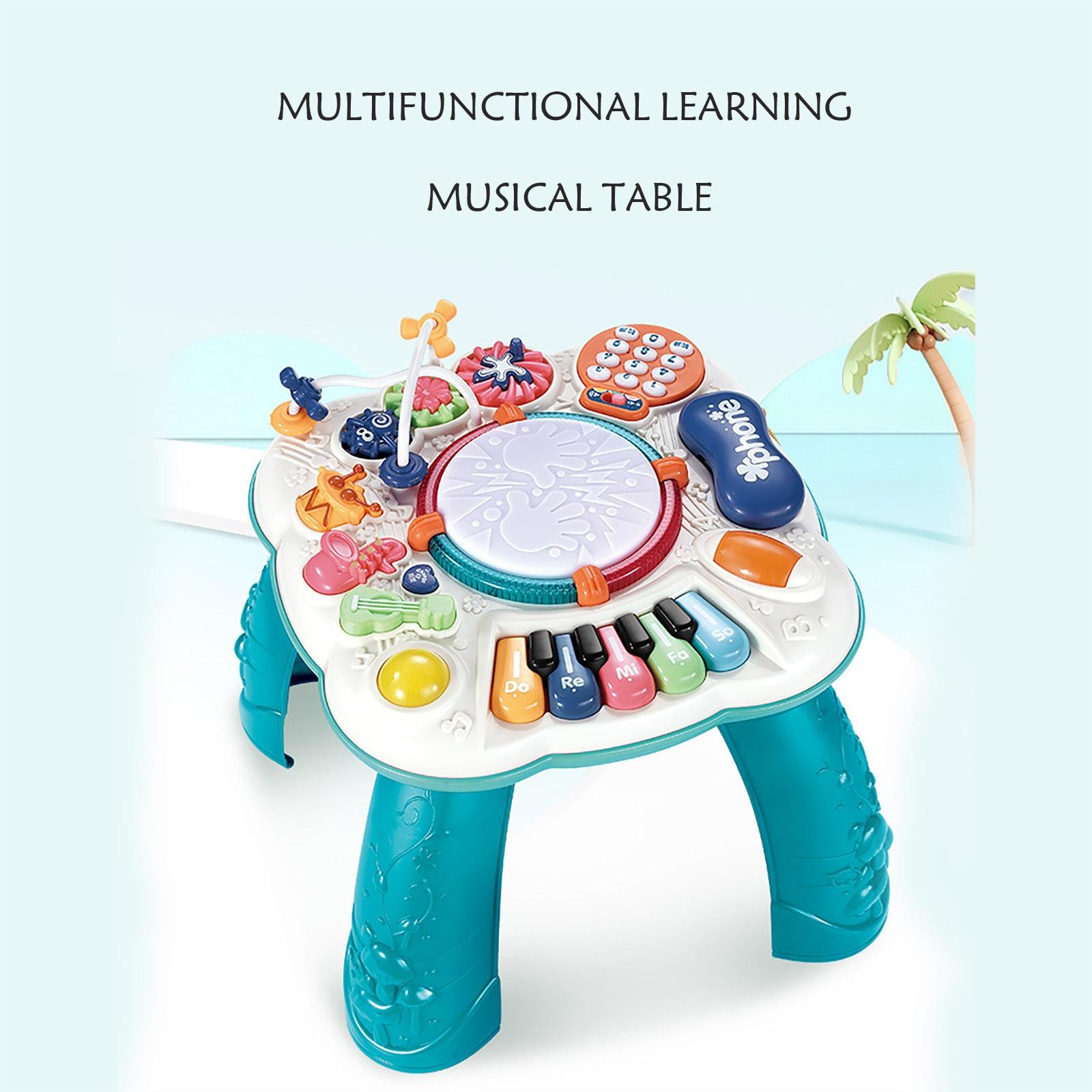 mesa musical para bebes maquina educacional para aprendizado de musica brinquedo