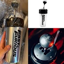 650ML Fast And Furious 9 Gearshift Cup With Straw And Lid