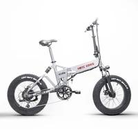 20inch 48v electric bicycle 500w motor snow fat e bike fold frame 48v12 8ah lithium battery fat tire electric mountian e bike