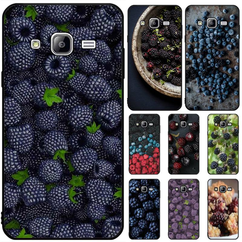 OFFeier blackberry recién llegado negro Funda de teléfono móvil para Samsung J6 Prime 7 Plus Peime J7 Neo J8 J6Plus J7 Duo 2018 2019