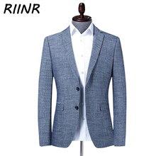 Riinr 2020 printemps automne nouveau costume pour hommes affaires vêtements de sport de haute qualité mode mince costume hommes Blazer veste mâle M-4XL
