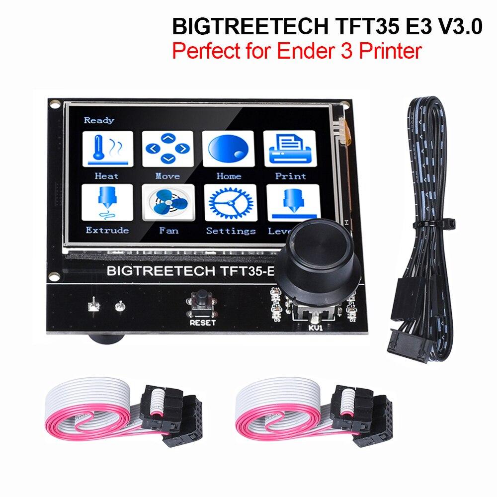 BIGTREETECH TFT35 E3 V3.0 Touch Screen 12864 LCD Display BTT TFT35 3D Printer Parts For Ender3 upgrade CR10 SKR MINI E3 Board