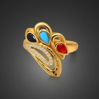 wholesale gold wedding ring for women 100 925 sterling silver popular ring engagement cocktail party jewelry gift
