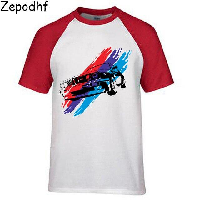 2019 marca de moda impresa para hombres Bmw M Power Fun camisetas para Hombres estilo clásico de verano camiseta ropa talla Euro XXXL para hombres